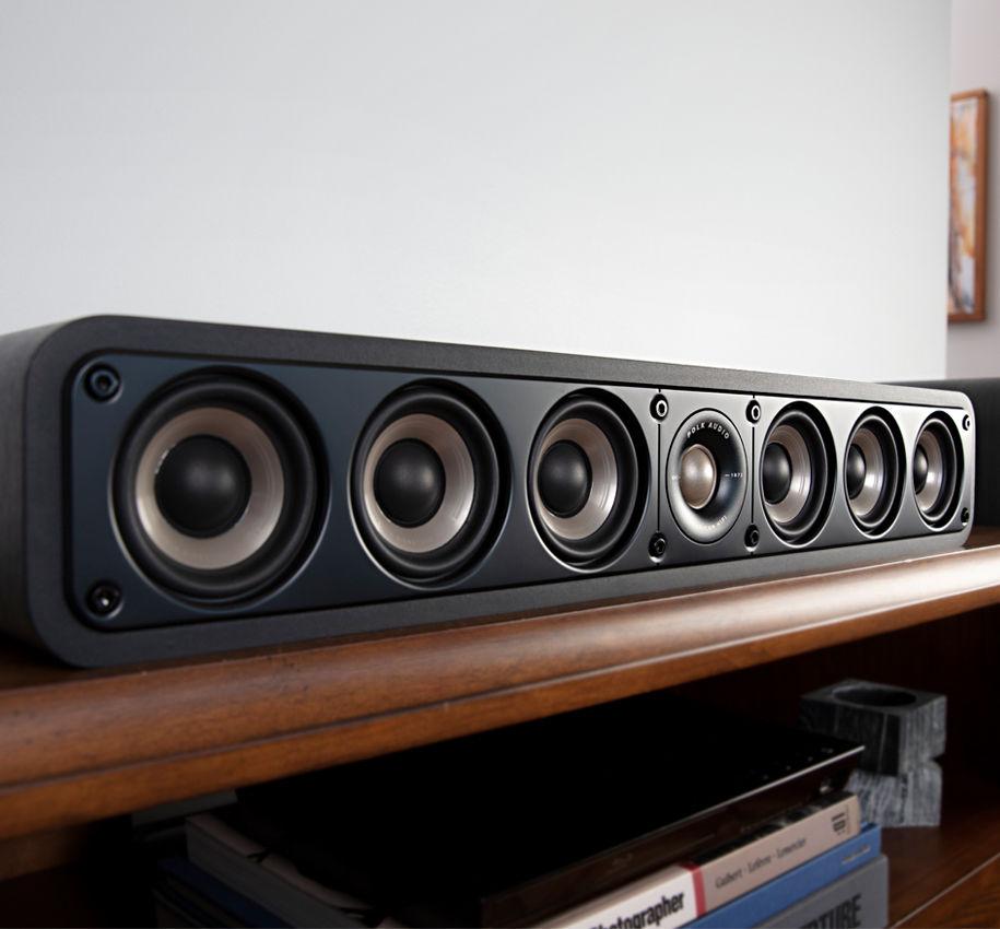 Акустика центрального канала Polk Audio Signature S35e Black