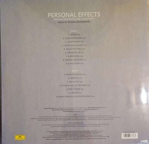 Виниловая пластинка OST - Personal Effects (Johann Johannsson)