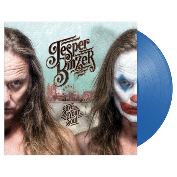 Виниловая пластинка Jesper Binzer – Save Your Soul( Limited Blue Vinyl)