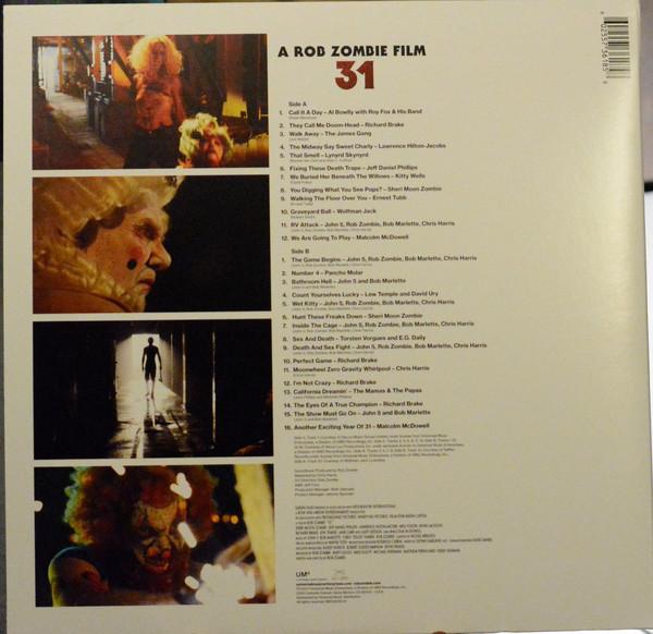 Виниловая пластинка Various artist - 31 - A ROB ZOMBIE FILM
