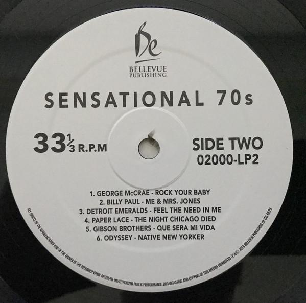 Виниловая пластинка Sensational 70's