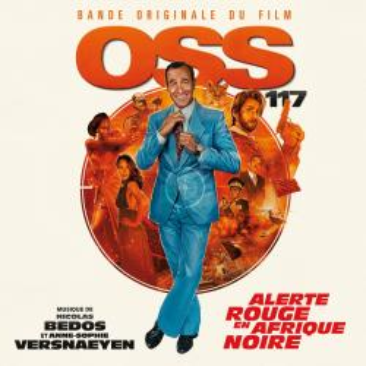 Виниловая пластинка Nicolas Bedos /Anne-Sophie Versnaeyen - OSS 117: Alerte rouge en Afrique noire (Black Vinyl)