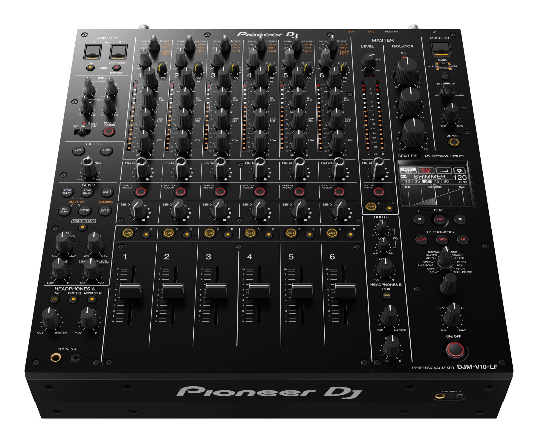 DJ-микшер Pioneer DJM-V10-LF