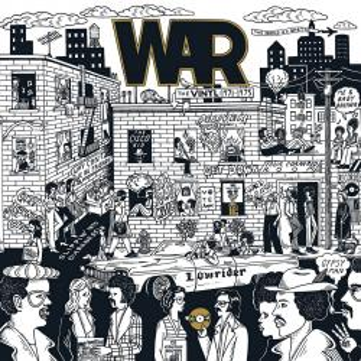 Виниловая пластинка WAR - Give Me Five! The War Albums (1971-1975) (RSD2021/Limited Box Set/Colored Vinyl)