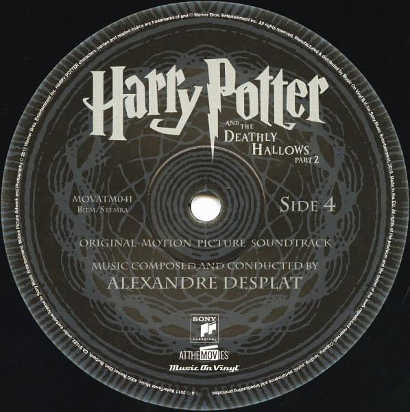 Виниловая пластинка Alexandre Desplat - Harry Potter And The Deathly Hallows Part 2