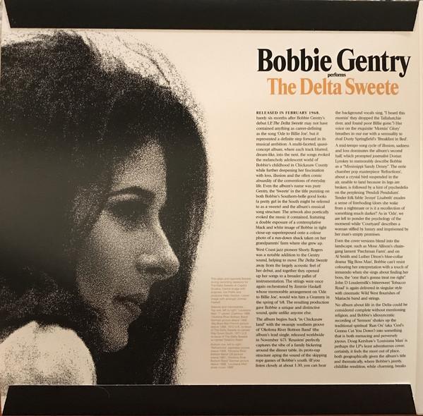 Виниловая пластинка Bobbie Gentry — The Delta Sweete