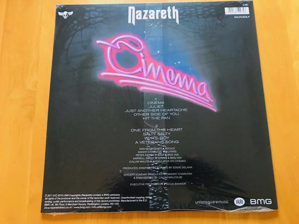 Виниловая пластинка Nazareth - Cinema (White Vinyl)