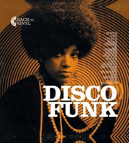 Виниловая пластинка Back to Disco Funk