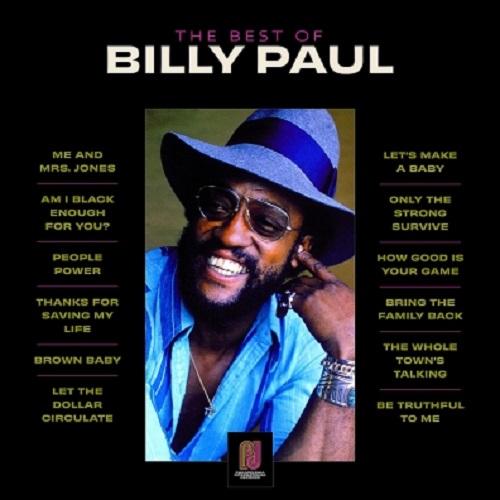 Виниловая пластинка Billy Paul - Best of Billy Paul (Black Vinyl)
