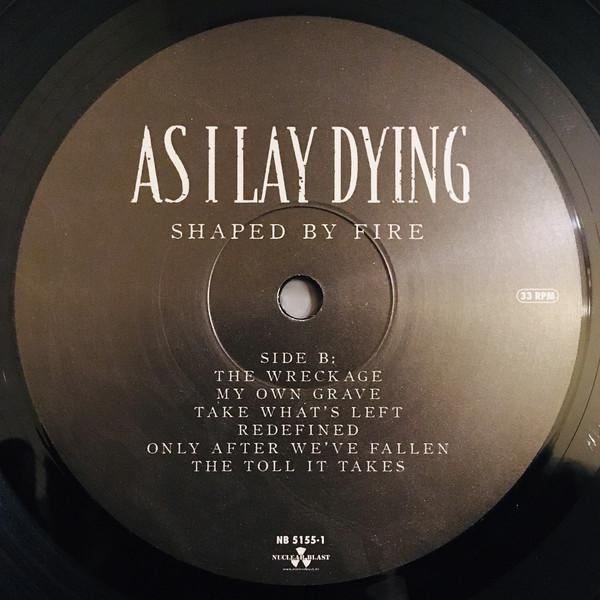 Виниловая пластинка As I Lay Dying - Shaped By Fire Black Vinyl