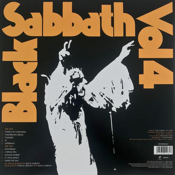 Виниловая пластинка Black Sabbath - Vol. 4