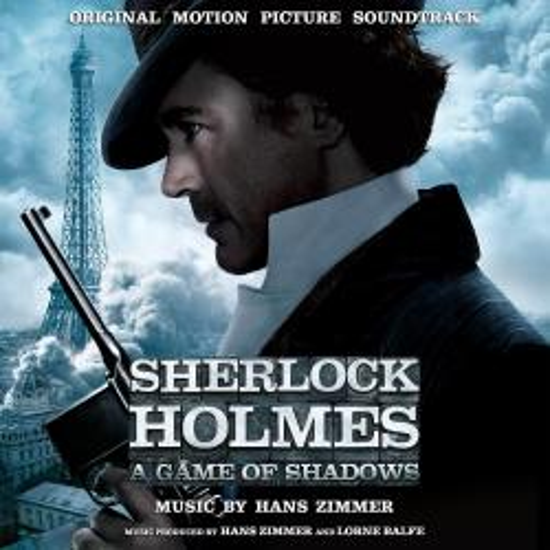 Виниловая пластинка Sherlock Holmes: A Game Of Shadows (By Hans Zimmer) (Smoke Colored Vinyl)