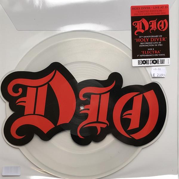 Виниловая пластинка Dio - Holy Diver Live (B/W Electra)