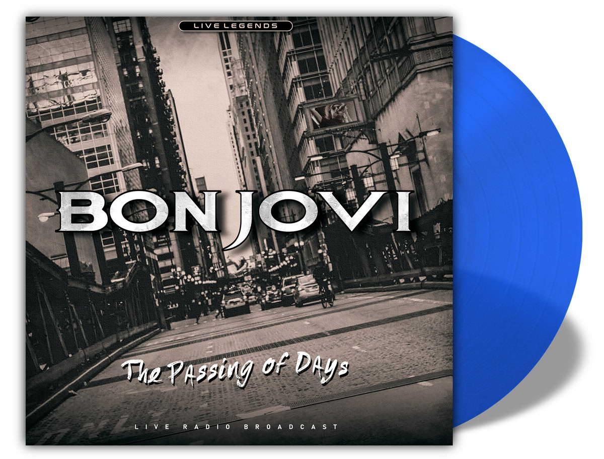 Виниловая пластинка Bon Jovi - The Passing Of Days (Transparent Blue Vinyl)