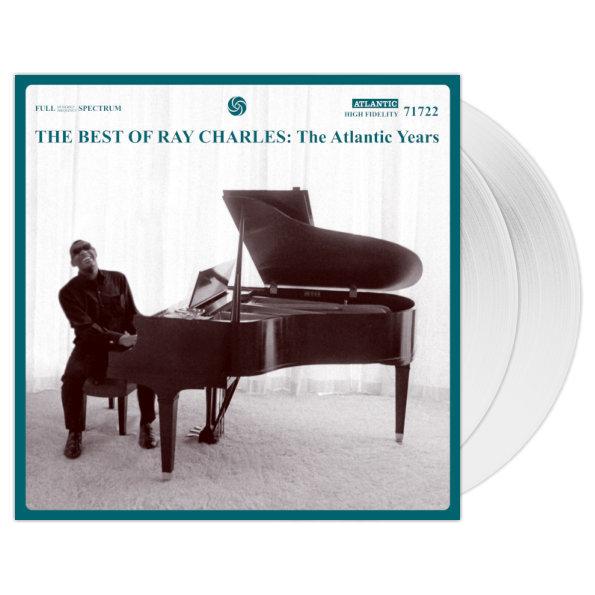 Виниловая пластинка Ray Charles — The Best Of Ray Charles: The Atlantic Years (Rhino Black / Limited White Vinyl)