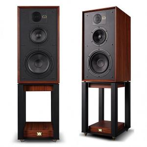 Полочная акустика Wharfedale 85th Anniversary Linton with stands Mahogany