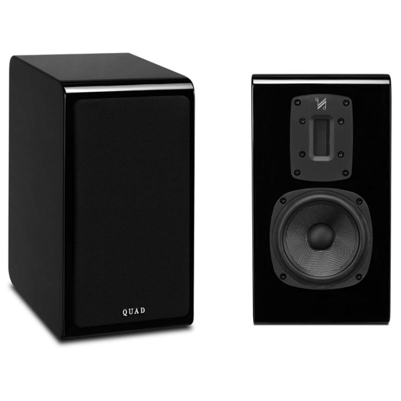 Полочная акустика Quad S-2 piano black