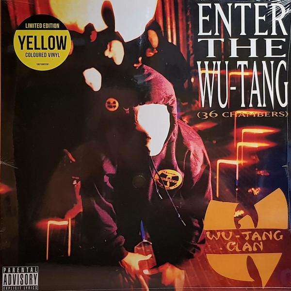 Виниловая пластинка Sony Wu-Tang Clan Enter The Wu-Tang Clan (36 Chambers) (Limited Solid Yellow Vinyl)