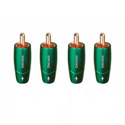 Комплект коннекторов AudioQuest Chicago RCA