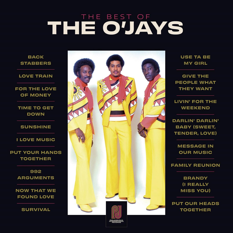 Виниловая пластинка The O'Jays - Best of The O'Jays (Black Vinyl)