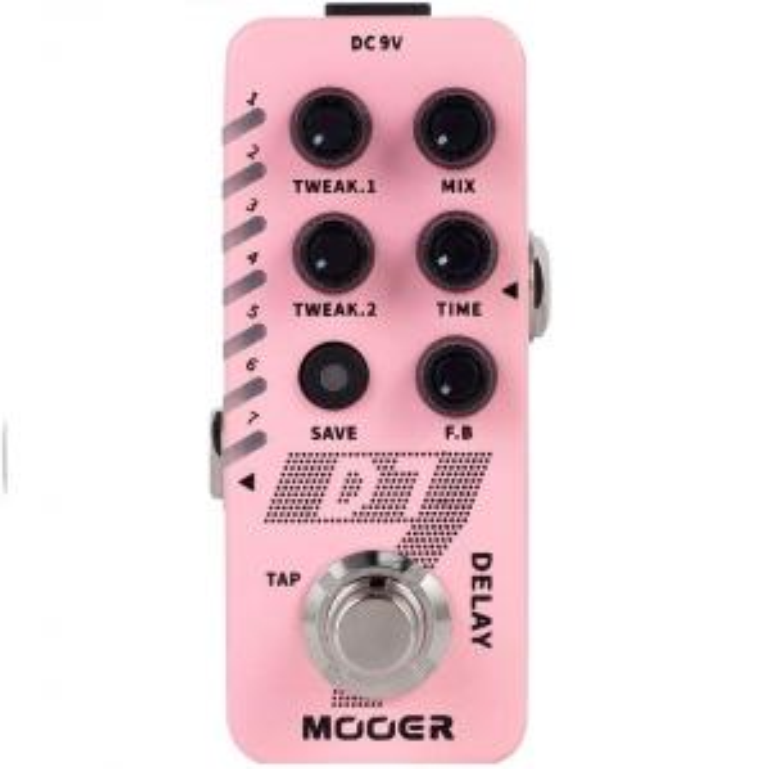 Гитарная педаль Mooer D7 Delay