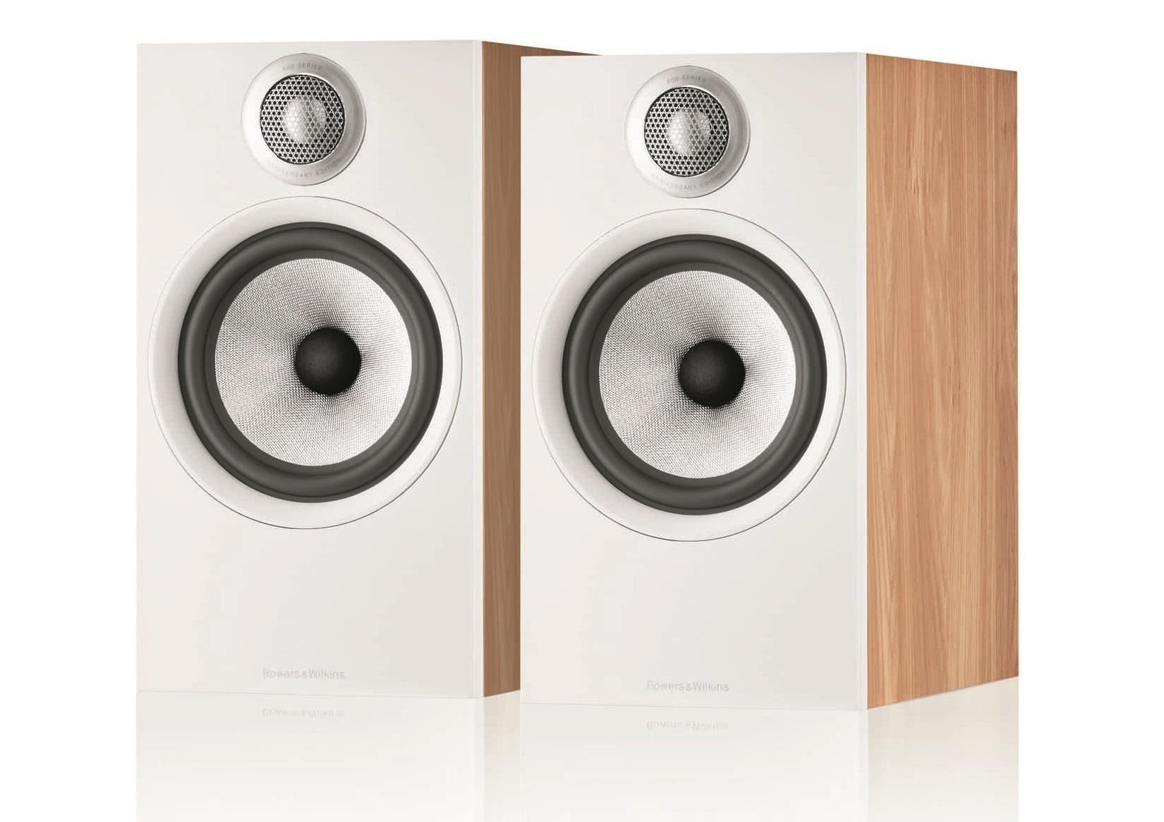 Полочная акустика B&W 607 S2 Anniversary Edition oak