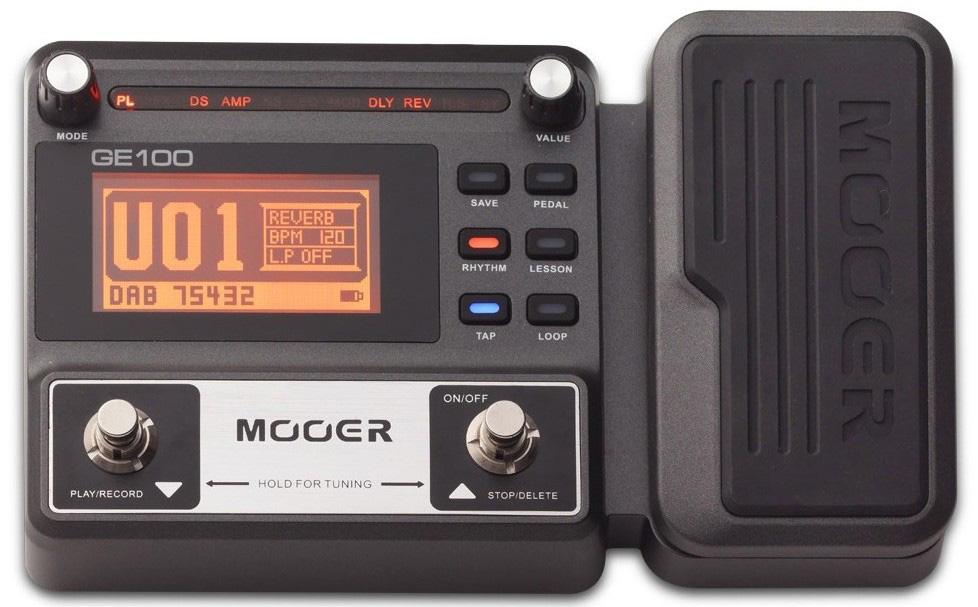 Гитарный процессор эффектов Mooer GE100