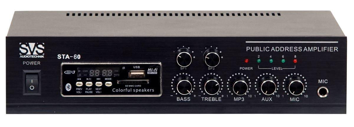 Микшер-усилитель SVS Audiotechnik STA-60