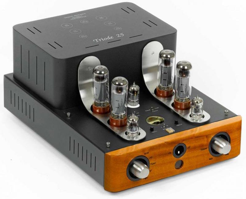 Ламповый интегральный усилитель Unison Research Triode 25 USB/DAC Cherry