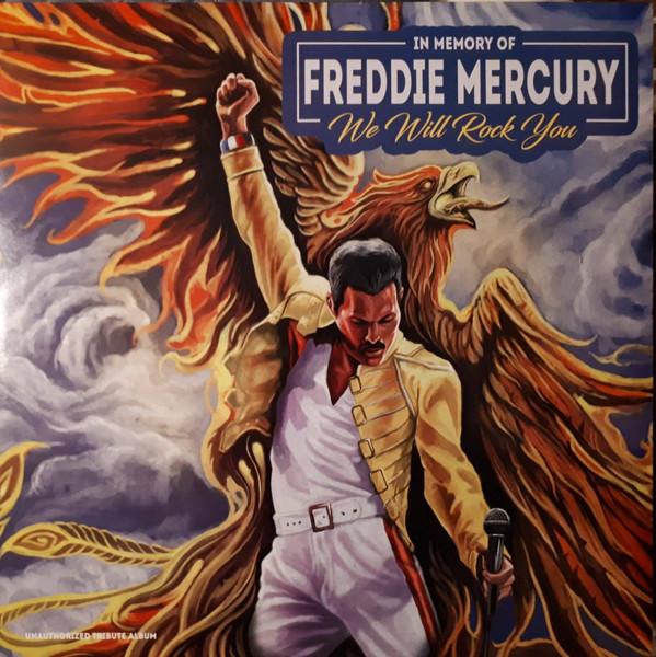 Виниловая пластинка Queen - We Will Rock You/ In Memory Of Freddie Mercury