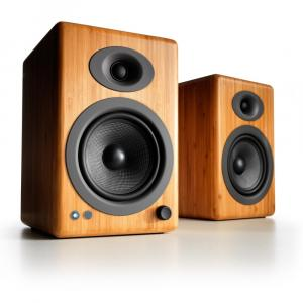 Полочная акустика Audioengine A5+ BT Bamboo
