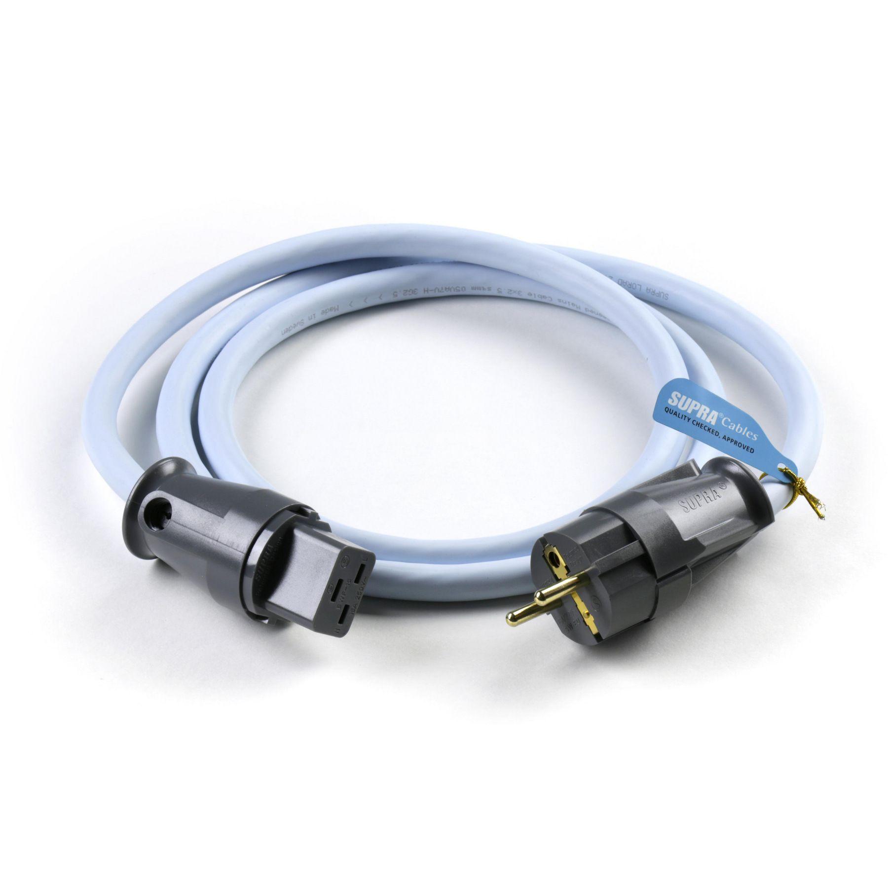 Сетевой кабель Supra LoRad 2.5 СS-16-EU 1.5m