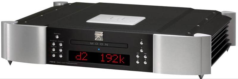 CD проигрыватель SIM Audio MOON 650D 2 TONE (black/silver)\Red Display