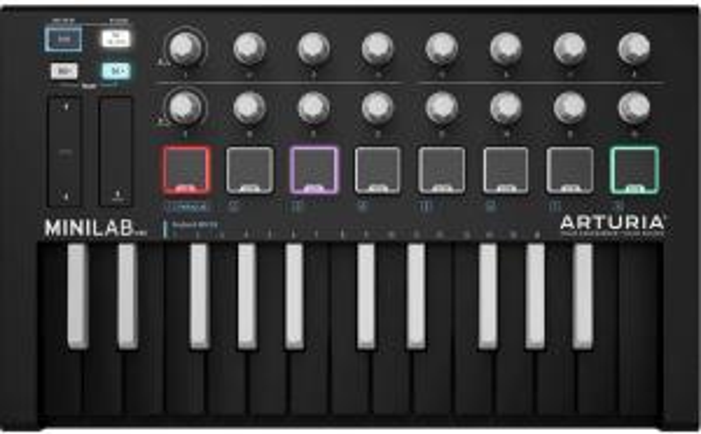 MIDI клавиатура Arturia MiniLab mkII Inverted