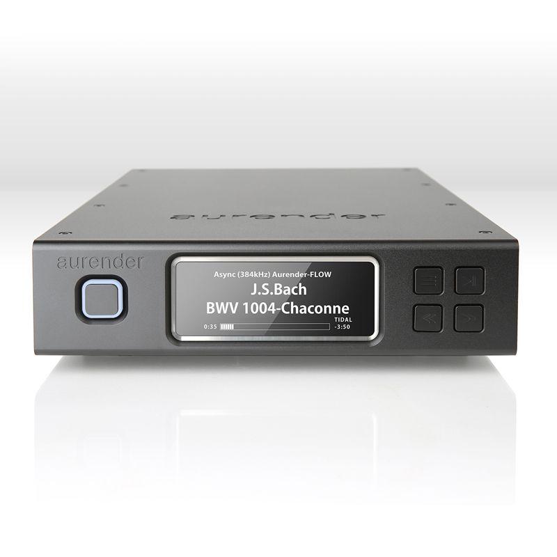 Сетевой музыкальный сервер Aurender N100C Black 4TB