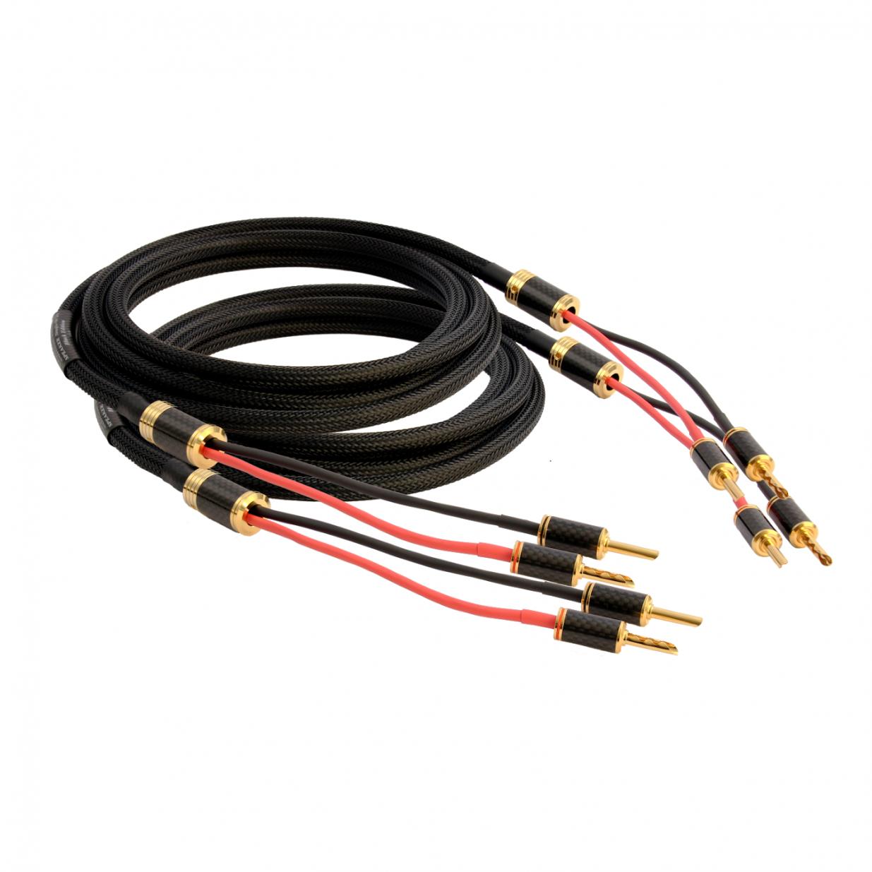 Кабель акустический Goldkabel Black Edition SC Single-Wire 2,5m