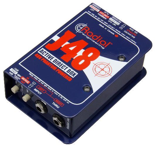 Директ-бокс Radial J48(Mk2)