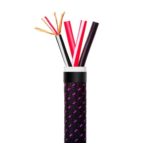 Акустический кабель Tributaries Серия 6 (SP6BW-BK02S) BiWire black 200ft. 60m. spl