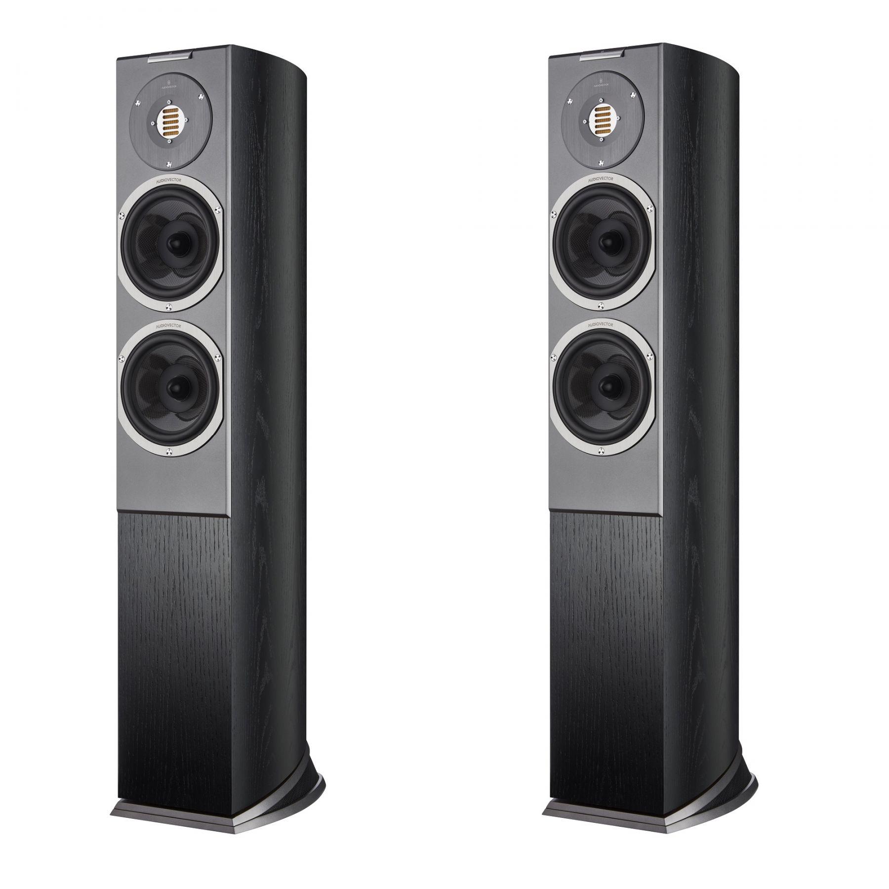 Напольная акустика Audiovector R3 Arrete Black Ash