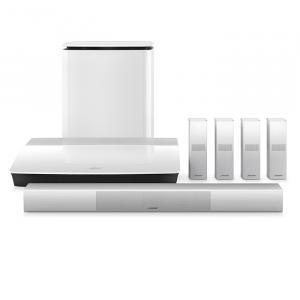 Комплект домашнего кинотеатра Bose 761683-2210 Lifestyle 650 system white