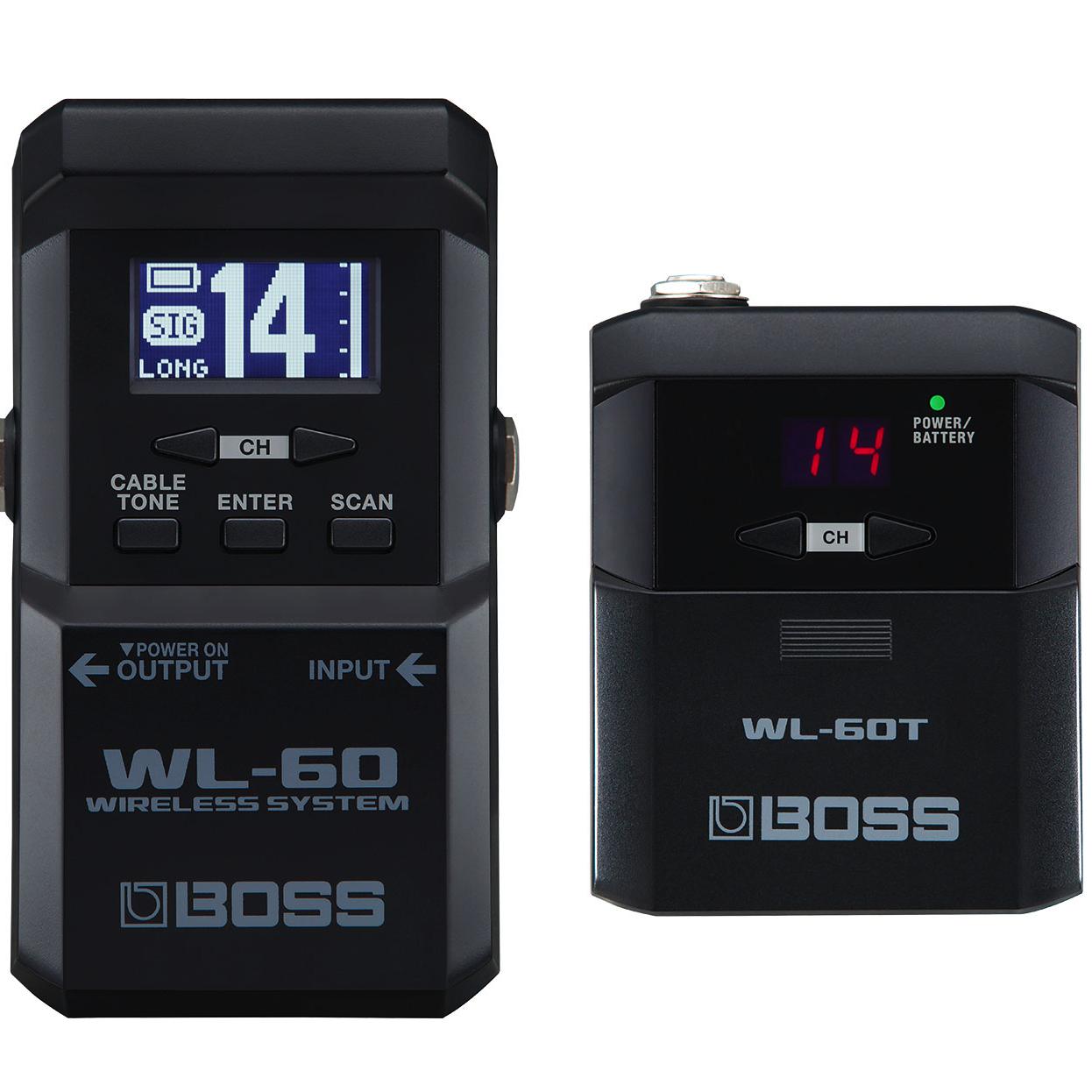 Радиосистема инструментальная Boss WL-60