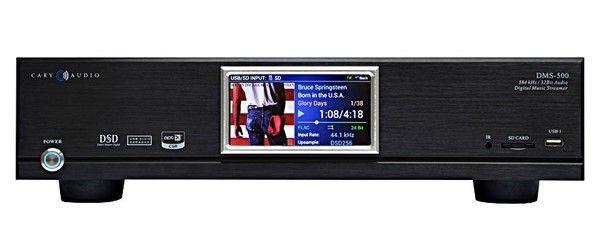 Сетевой аудио проигрыватель Cary Audio DMS 500 black