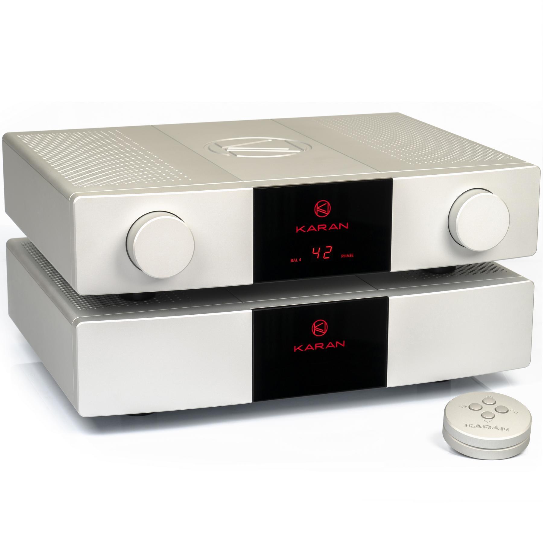 Предусилитель Karan Acoustics Master Collection LINEa & PSUa Silver