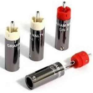 Разъем Black Rhodium Graham Nalty RCA rhodium plug kit GN-4