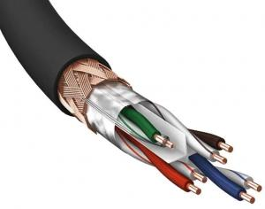 LAN-кабель Eagle Cable DELUXE CAT6 SF-UTP 24AWG 100 m anth. 10065000, в нарезку