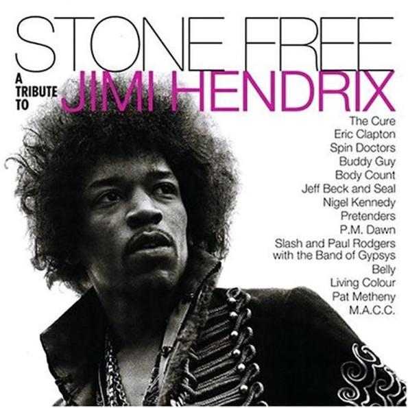 Виниловая пластинка Various Artists - Stone Free (A Tribute To Jimi Hendrix) (Rocktober 2020 / Limited Clear & Black Mixed Vinyl/Gatefold)