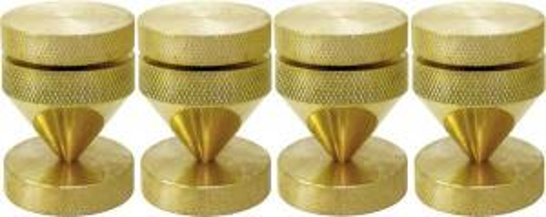 Демпферы с пятаками Dynavox 100818 gold