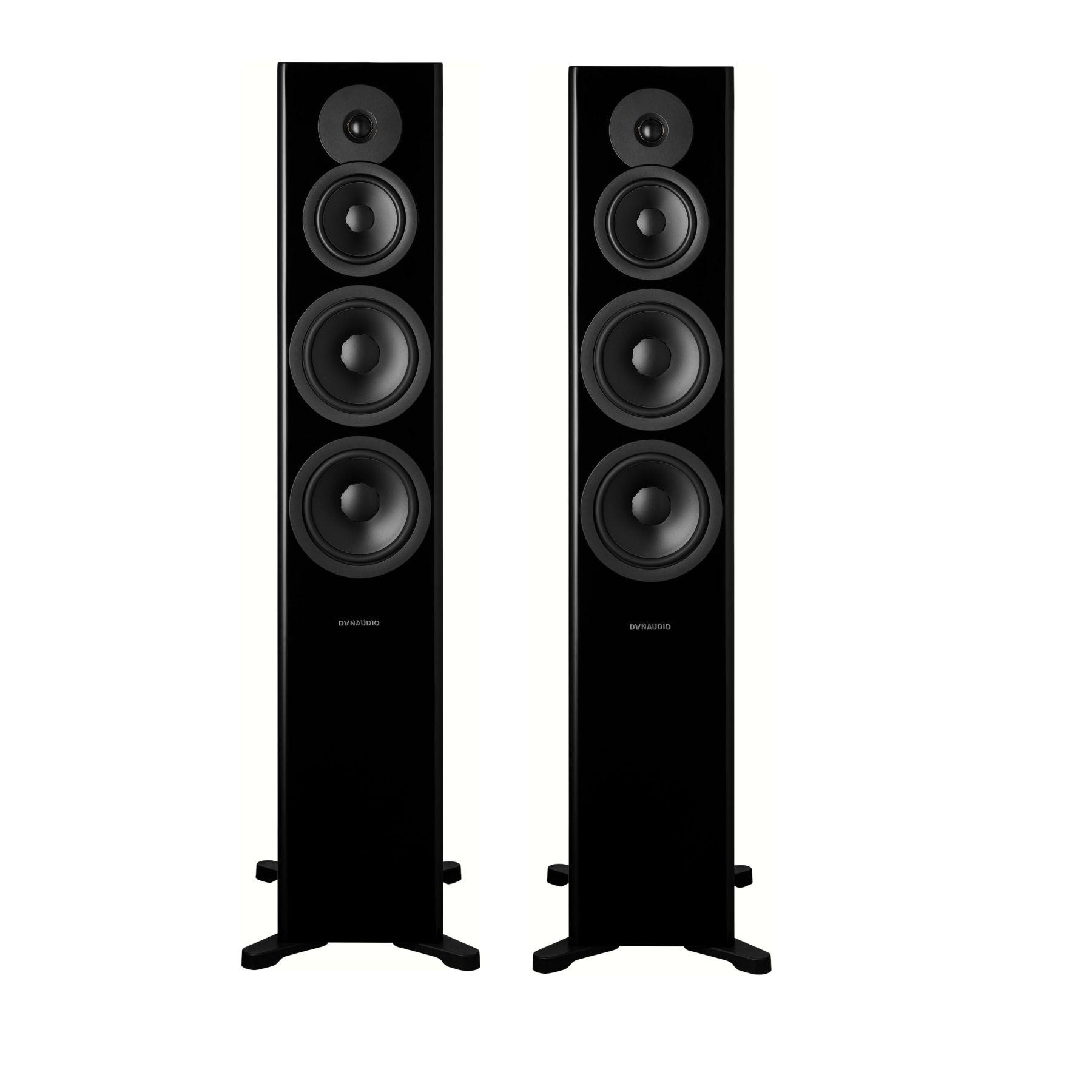 Напольная акустика Dynaudio Evoke 50 Black High Gloss