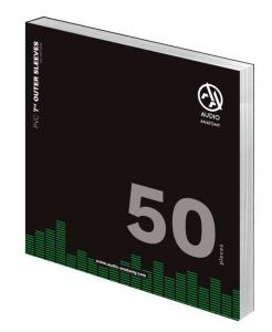 Внешние конверты Audio Anatomy 50 X PVC 7 INCH OUTER SLEEVES - 140 MICRON
