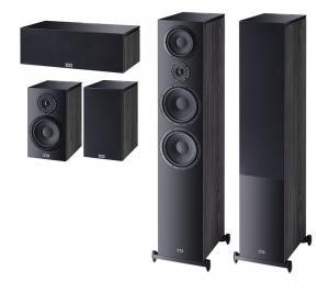 Комплект акустики Heco Aurora 1000 Set 5.0 (1000+300+Center) black